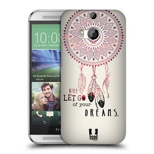 Plastové pouzdro na mobil HTC ONE M8 HEAD CASE LAPAČ NEVER DREAMS
