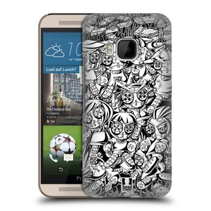 Plastové pouzdro na mobil HTC ONE M9 HEAD CASE VOODOO PUNK