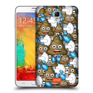 Plastové pouzdro na mobil Samsung Galaxy Note 3 Neo HEAD CASE EMOJI - Hovínka a prdíky