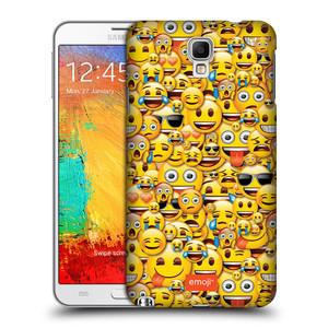 Plastové pouzdro na mobil Samsung Galaxy Note 3 Neo HEAD CASE EMOJI - Mnoho malých smajlíků