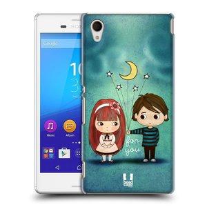 Plastové pouzdro na mobil Sony Xperia M4 Aqua E2303 HEAD CASE Emo Love při Měsíčku