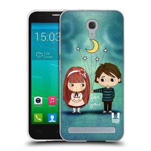 Silikonové pouzdro na mobil Alcatel One Touch Idol 2 Mini S 6036Y HEAD CASE Emo Love při Měsíčku