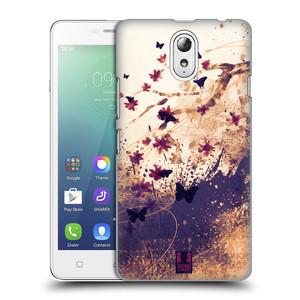 Plastové pouzdro na mobil Lenovo Vibe P1m HEAD CASE MOTÝLCI