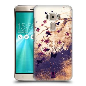 Plastové pouzdro na mobil Asus ZenFone 3 ZE520KL HEAD CASE MOTÝLCI