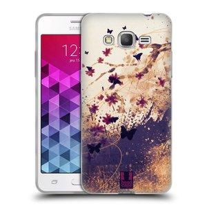 Silikonové pouzdro na mobil Samsung Galaxy Grand Prime VE HEAD CASE MOTÝLCI