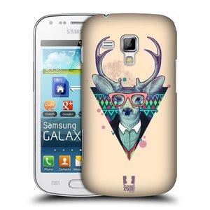 Plastové pouzdro na mobil Samsung Galaxy S Duos 2 HEAD CASE HIPSTR JELEN