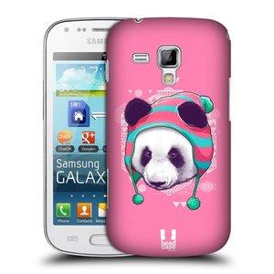 Plastové pouzdro na mobil Samsung Galaxy Trend HEAD CASE HIPSTR PANDA