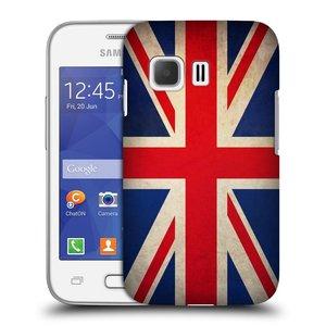 Plastové pouzdro na mobil Samsung Galaxy Young 2 HEAD CASE VLAJKA VELKÁ BRITÁNIE