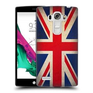 Plastové pouzdro na mobil LG G4s HEAD CASE VLAJKA VELKÁ BRITÁNIE