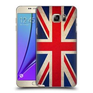 Plastové pouzdro na mobil Samsung Galaxy Note 5 HEAD CASE VLAJKA VELKÁ BRITÁNIE