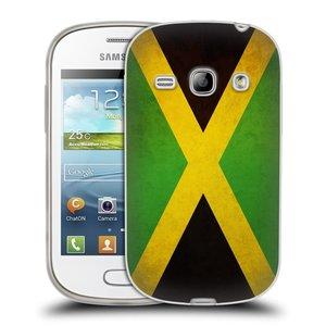Silikonové pouzdro na mobil Samsung Galaxy Fame HEAD CASE VLAJKA JAMAJKA
