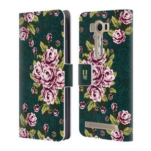 Flipové pouzdro na mobil Asus ZenFone 2 Laser ZE500KL HEAD CASE Floral Art Deco