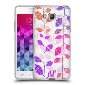 Silikonové pouzdro na mobil Samsung Galaxy Grand Prime VE HEAD CASE AZTEC LÍSTKY