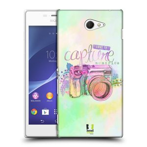 Plastové pouzdro na mobil Sony Xperia M2 D2303 HEAD CASE Shutter Capture