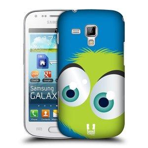 Plastové pouzdro na mobil Samsung Galaxy S Duos HEAD CASE FUZÍK ZELENÝ