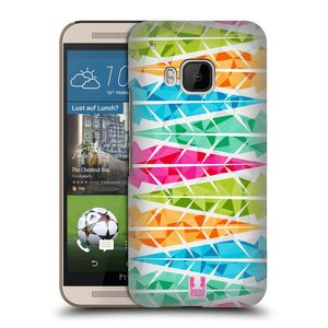 Plastové pouzdro na mobil HTC ONE M9 HEAD CASE PÍRKA ALTERNATING