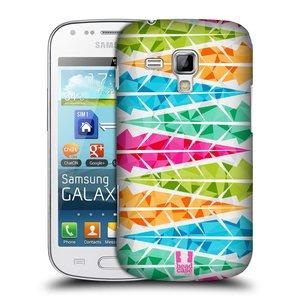 Plastové pouzdro na mobil Samsung Galaxy Trend HEAD CASE PÍRKA ALTERNATING