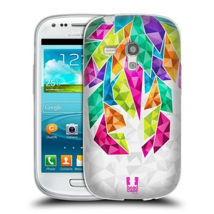 Silikonové pouzdro na mobil Samsung Galaxy S3 Mini VE HEAD CASE PÍRKA TICKLE