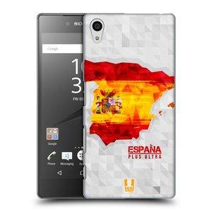Plastové pouzdro na mobil Sony Xperia Z5 HEAD CASE GEOMAPA ŠPANĚLSKO