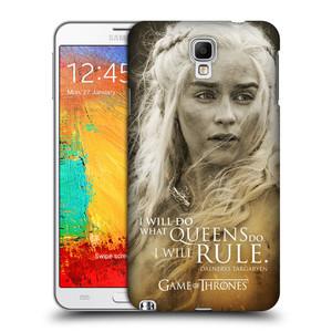 Plastové pouzdro na mobil Samsung Galaxy Note 3 Neo HEAD CASE Hra o trůny - Daenerys Targaryen