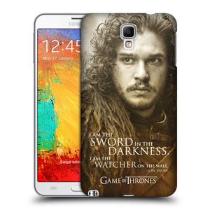 Plastové pouzdro na mobil Samsung Galaxy Note 3 Neo HEAD CASE Hra o trůny - Jon Snow