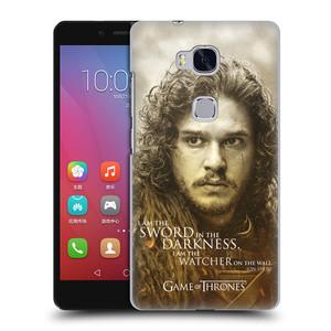 Plastové pouzdro na mobil Honor 5X HEAD CASE Hra o trůny - Jon Snow