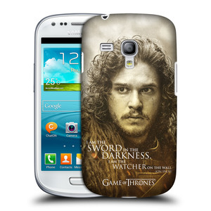 Pouzdro na mobil Samsung Galaxy S III Mini VE HEAD CASE Hra o trůny - Jon Snow