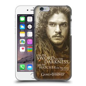 Plastové pouzdro na mobil Apple iPhone 6 HEAD CASE Hra o trůny - Jon Snow