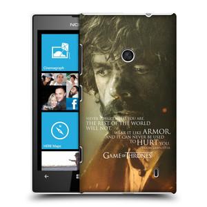 Plastové pouzdro na mobil Nokia Lumia 520 HEAD CASE Hra o trůny - Tyrion Lannister