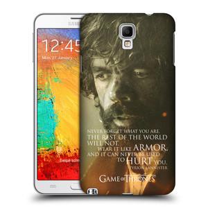 Plastové pouzdro na mobil Samsung Galaxy Note 3 Neo HEAD CASE Hra o trůny - Tyrion Lannister