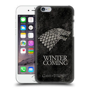 Plastové pouzdro na mobil Apple iPhone 6 HEAD CASE Hra o trůny - Stark - Winter is coming