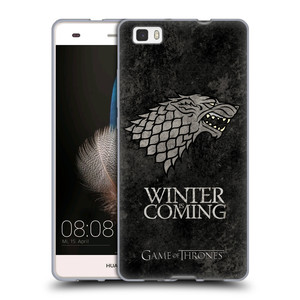 Silikonové pouzdro na mobil Huawei P8 Lite HEAD CASE Hra o trůny - Stark - Winter is coming
