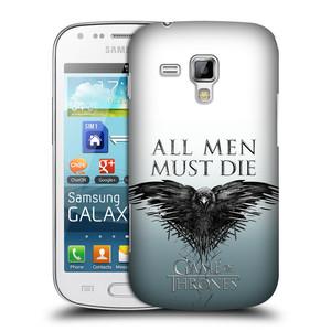 Plastové pouzdro na mobil Samsung Galaxy S Duos 2 HEAD CASE Hra o trůny - All men must die