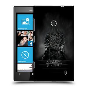 Plastové pouzdro na mobil Nokia Lumia 520 HEAD CASE Hra o trůny - Železný trůn