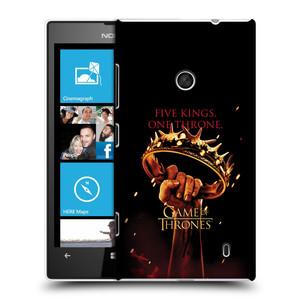 Plastové pouzdro na mobil Nokia Lumia 520 HEAD CASE Hra o trůny - Jeden trůn