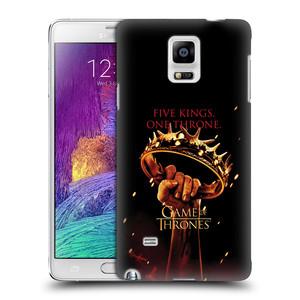 Plastové pouzdro na mobil Samsung Galaxy Note 4 HEAD CASE Hra o trůny - Jeden trůn