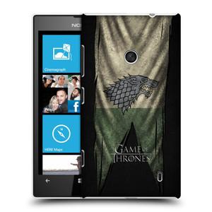 Plastové pouzdro na mobil Nokia Lumia 520 HEAD CASE Hra o trůny - Stark Flag