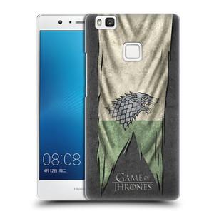 Plastové pouzdro na mobil Huawei P9 Lite HEAD CASE Hra o trůny - Stark Flag