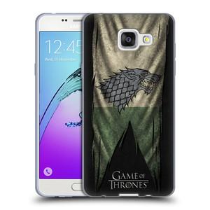 Silikonové pouzdro na mobil Samsung Galaxy A5 (2016) HEAD CASE Hra o trůny - Stark Flag