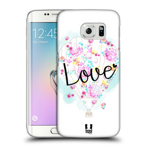 Plastové pouzdro na mobil Samsung Galaxy S6 Edge HEAD CASE Balón Love