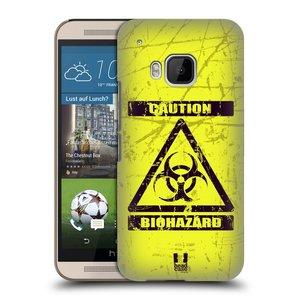 Plastové pouzdro na mobil HTC ONE M9 HEAD CASE BIOHAZARD