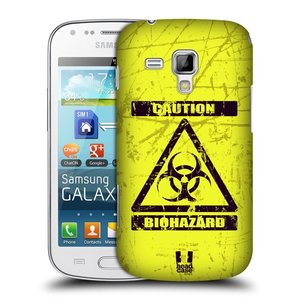 Plastové pouzdro na mobil Samsung Galaxy S Duos 2 HEAD CASE BIOHAZARD