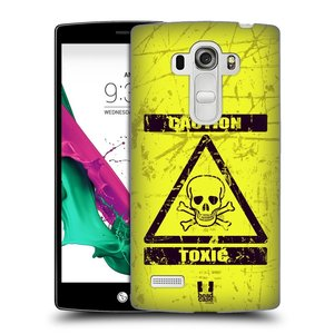 Plastové pouzdro na mobil LG G4s HEAD CASE TOXIC