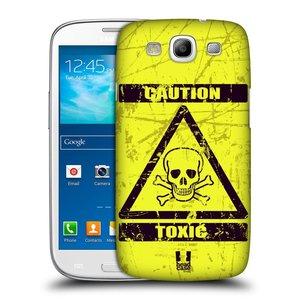 Plastové pouzdro na mobil Samsung Galaxy S3 Neo HEAD CASE TOXIC
