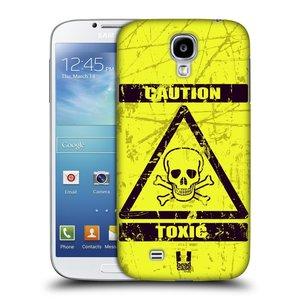 Plastové pouzdro na mobil Samsung Galaxy S4 HEAD CASE TOXIC