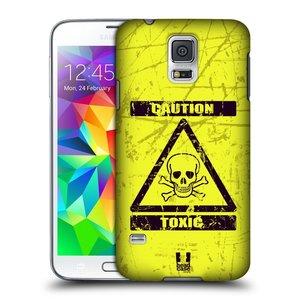 Plastové pouzdro na mobil Samsung Galaxy S5 HEAD CASE TOXIC