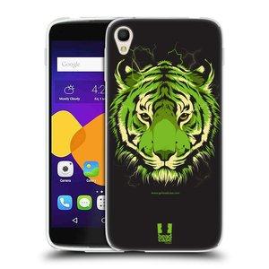 Silikonové pouzdro na mobil Alcatel One Touch 6045Y Idol 3 HEAD CASE BENGÁLSKÝ TYGR