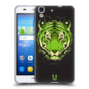 Silikonové pouzdro na mobil Huawei Y6 HEAD CASE BENGÁLSKÝ TYGR