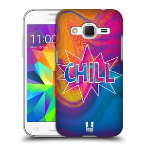 Plastové pouzdro na mobil Samsung Galaxy Core Prime LTE HEAD CASE HOLOGRAF CHILL
