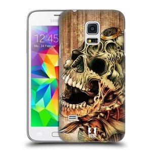 Plastové pouzdro na mobil Samsung Galaxy S5 Mini HEAD CASE PIRANHA